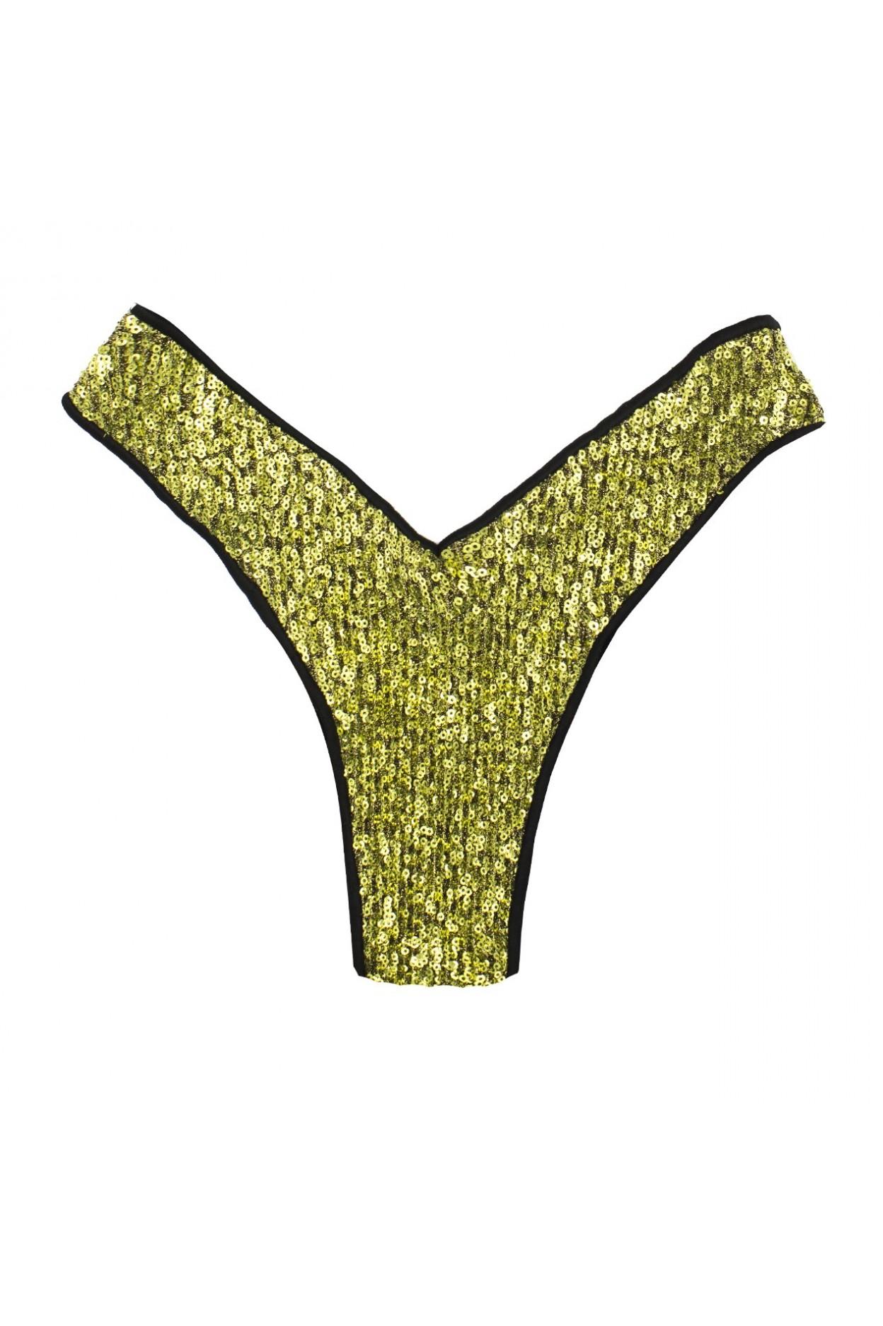 """Shine Gold Brasiliana """"V"""""""