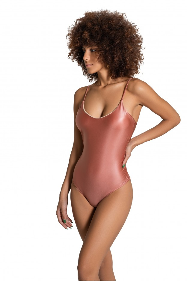 body beverly cipria costume donna lycra rosa