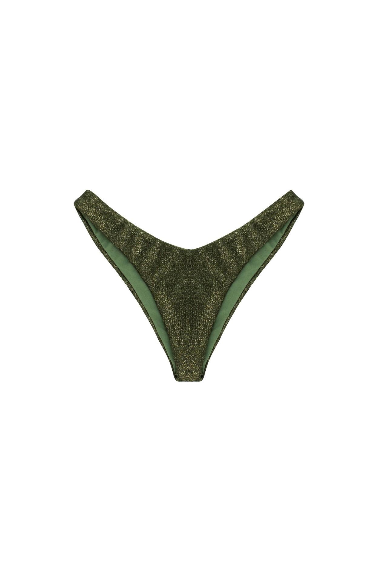 glitter army brasiliana V taglio costume donna lurex